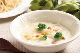豆乳のまったりスープ