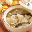 食卓_大根の塩スープ煮